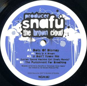 NGM 02 - NGM Records - PRODUCER SNAFU - The Brown Cloud